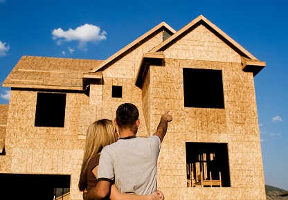 First home first loan for Financing new home construction